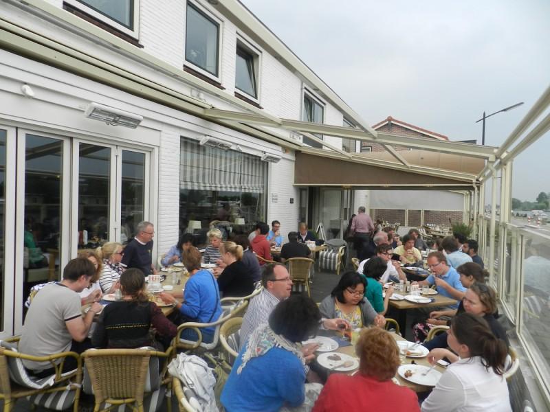 Restaurant kaagzicht - Overdekt terras voor restaurant ...
